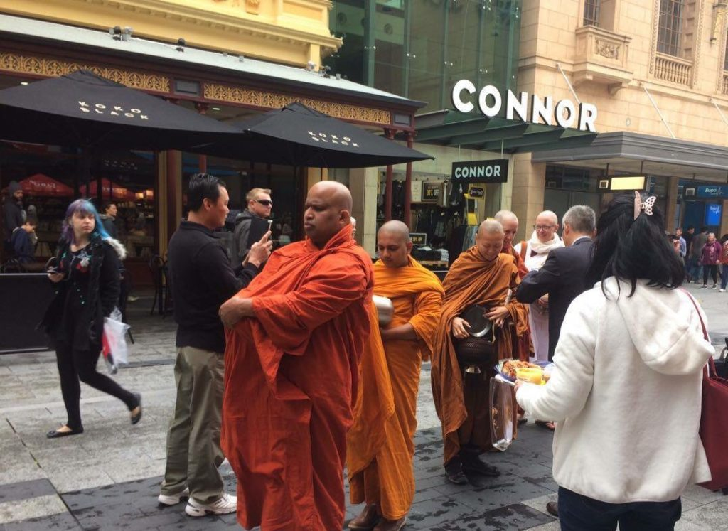 PRESS RELEASE: Buddhist monks turning heads in Rundle Mall ...